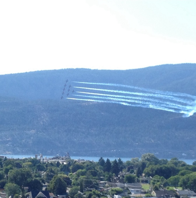 Be Awed by the Snowbirds
