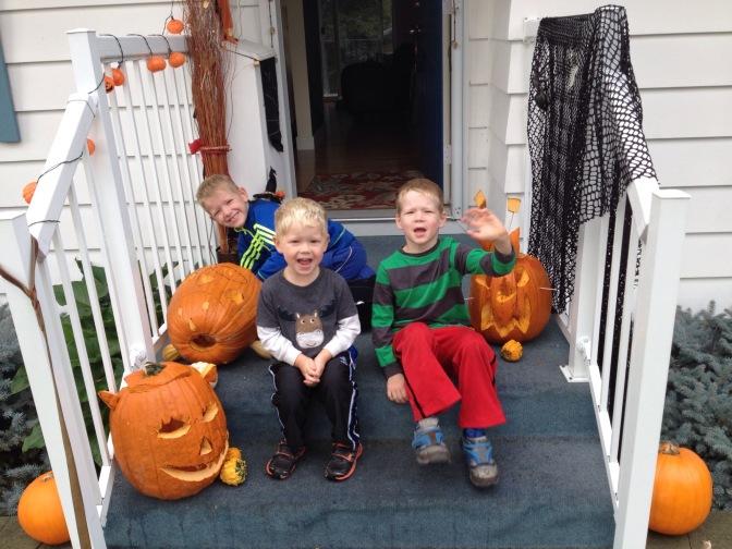 Be Having a Pumpkin Party