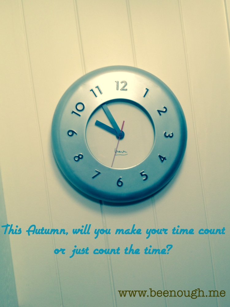 Be Counting Time?