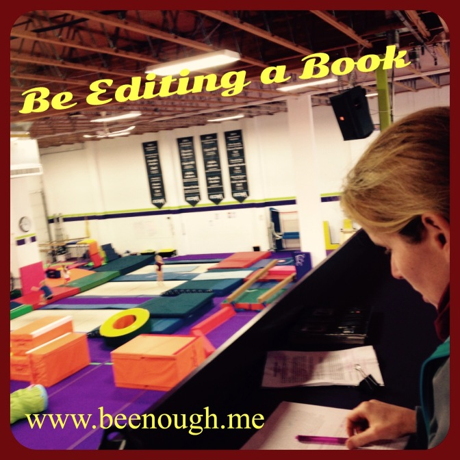Be Editing a Book