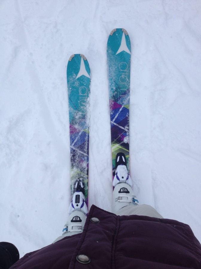 Be Finding Solace on Skis
