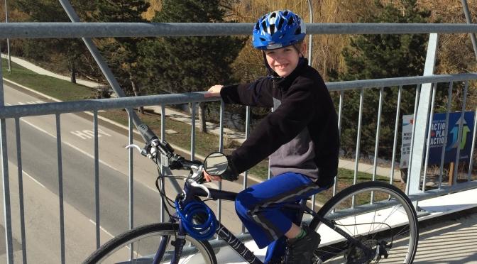 Be Riding Nana's Bike (Post about Joy!)