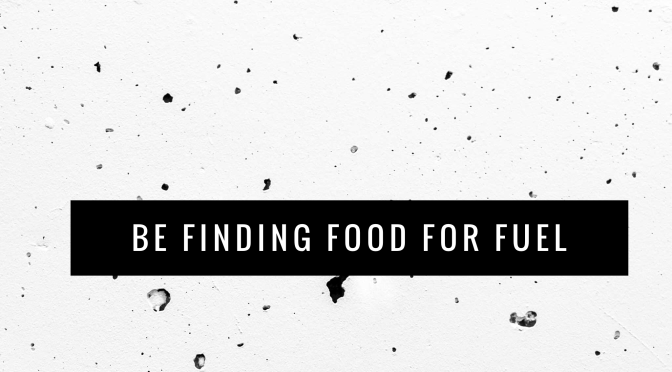 Be Finding Food For Fuel (4 Pillars of a Healthy Fuelling System)