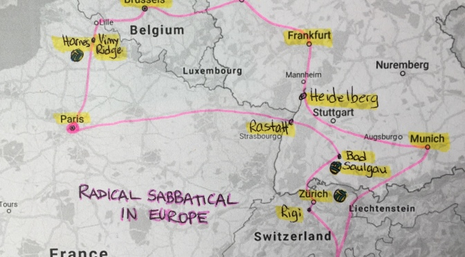Be Taking a Radical Sabbatical to Europe